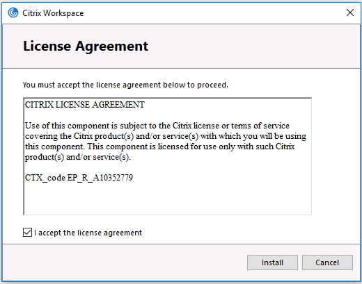Installing Citrix Workspace For Windows It Logik Limited